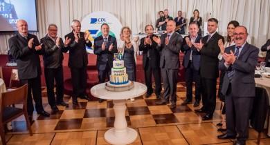 CDL-BG comemora 50 anos com homenagens e lançamento de livro com história da entidade