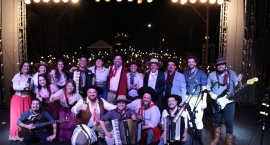 Galpão Crioulo anima bento-gonçalvenses no primeiro dia de Festa Nacional da Música