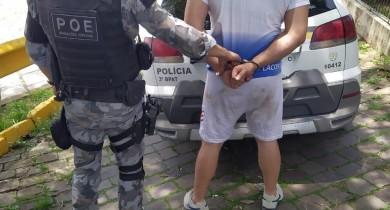 BM prende foragido por homicídio durante Operação Papai Noel em Veanópolis