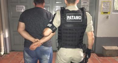 Brigada Militar prende foragido no Maria Goretti em Bento