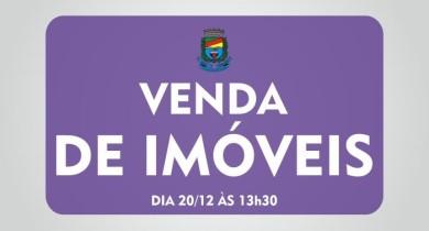 Prefeitura de Bento realiza a venda de 26 imóveis no município