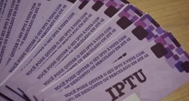 IPTU pode ser parcelado em quatro vezes em Bento