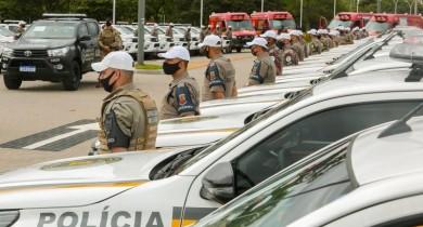 Governo entrega 53 viaturas semiblindadas à BM e quatro ambulâncias aos Bombeiros
