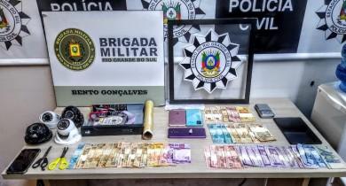 Homem é preso por tráfico de drogas durante operação da BM e PC em Bento