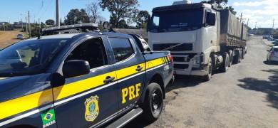 policia-rodoviaria-federal-prende-motorista-de-caminhao-dirigindo-embriagado-em-vacaria