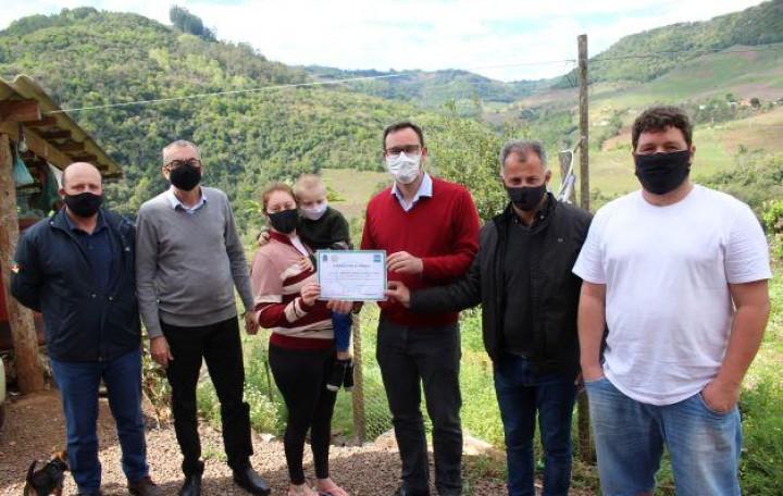 Certificado do Selo Sabor de Bento é entregue para mais três agroindústrias