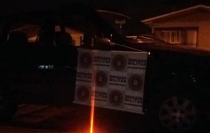Em rápida ação da polícia, BM prende homem com carro roubado em Garibaldi