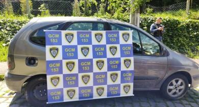 Guarda Civil Municipal apreende veículo com possíveis adulterações em Bento