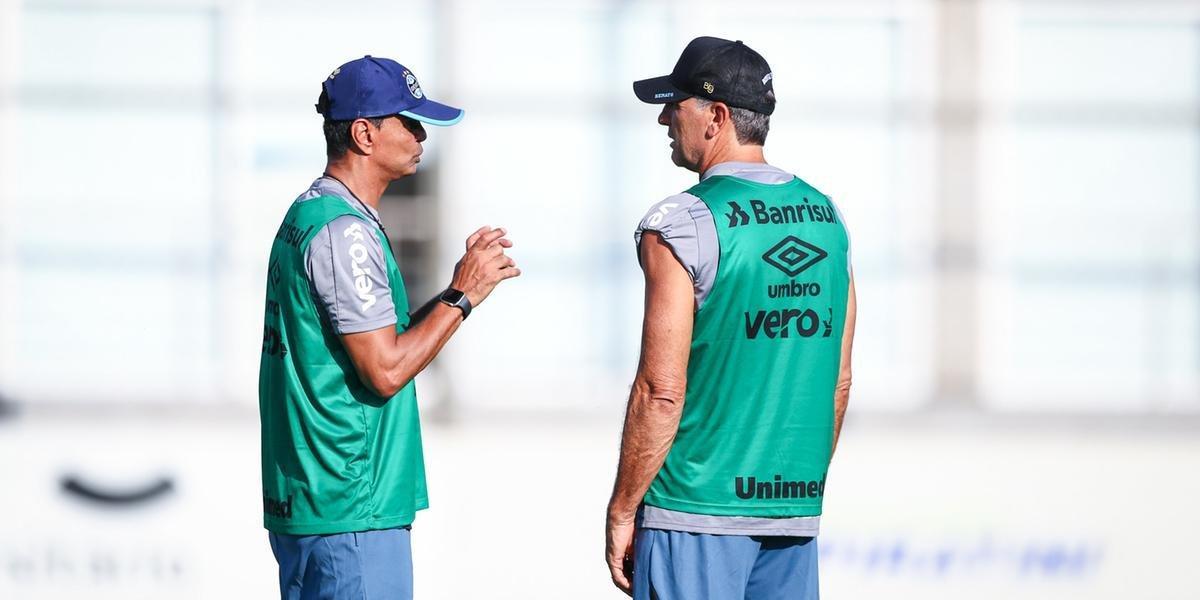 Grêmio mantém mistério para decisão contra o Caxias