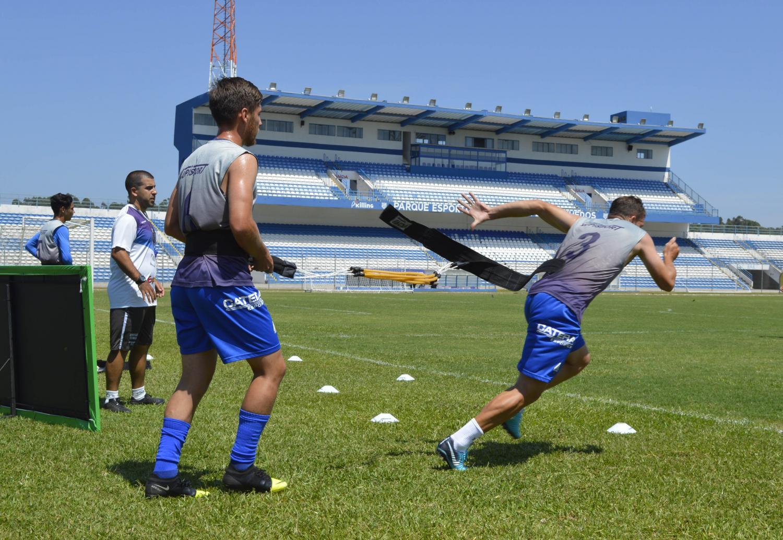 Com medidas preventivas, Esportivo retorna aos treinamentos no Montanha dos Vinhedos